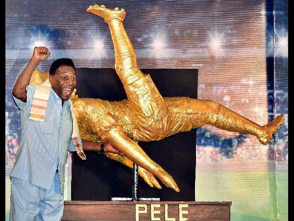News Pics Football Legend Pele India
