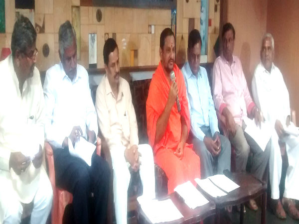 Dayanandapuri Swamiji insisted the government to built Mudanuru Development Authority