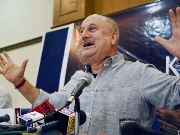 Bollywood actor Anupam Kher denied Pakistani visa