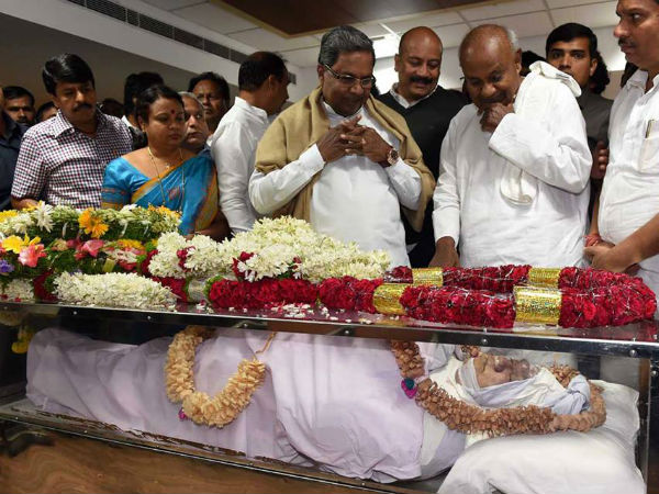 Gurupadappa Nagamarapalli Last Rites To Be Held In Home Town On Nov