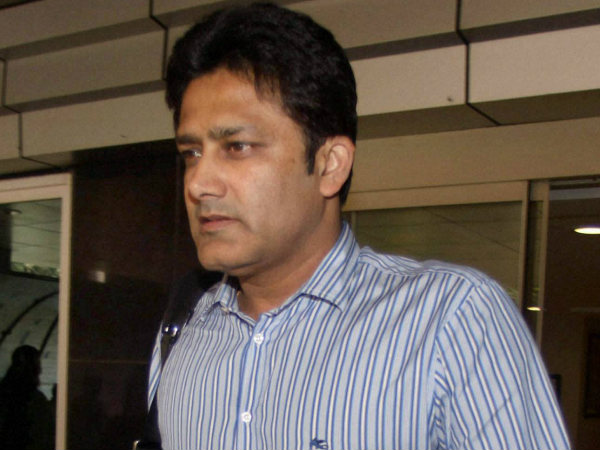 Anil Kumble in the race for India cricket coach