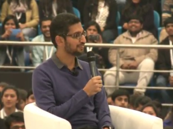 Sundar Pichai At Delhi University Srcc Interactive Session Highlights