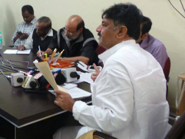 Farmers will get three phase current and no Load Shedding from now, D K Shivakumar