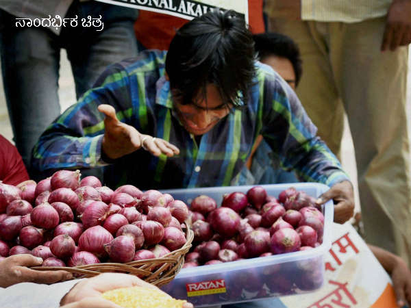 Onion price fall to 20years low, APMC yards at 1 to 5 Rs
