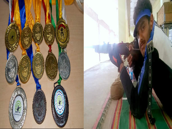 Kodagu Manjesh Mandanna is the best rifle shooter