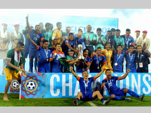 India move up to 163rd in FIFA football rankings after SAFF win