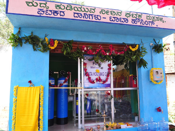 MLC Narayan Swamy inaugurates drinking water facility plant in 5 villages in Bengaluru