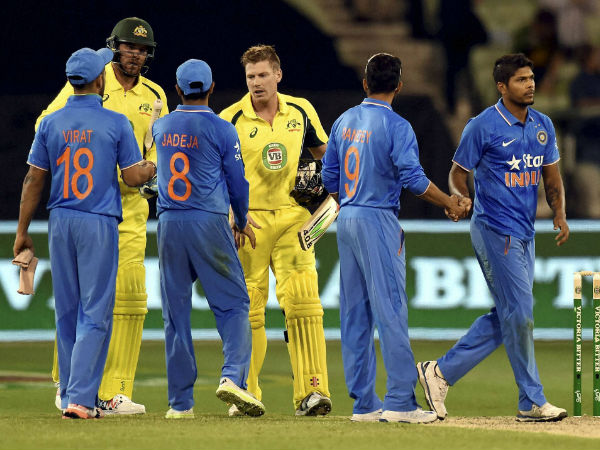 Australia defeat India in Canberra ODI to set world record