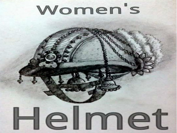 Helmet mandatory; Check out Women's helmet in picture