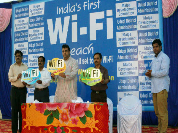 Udupi Malpe beach becomes first beach in India to get free Wi-Fi connectivity