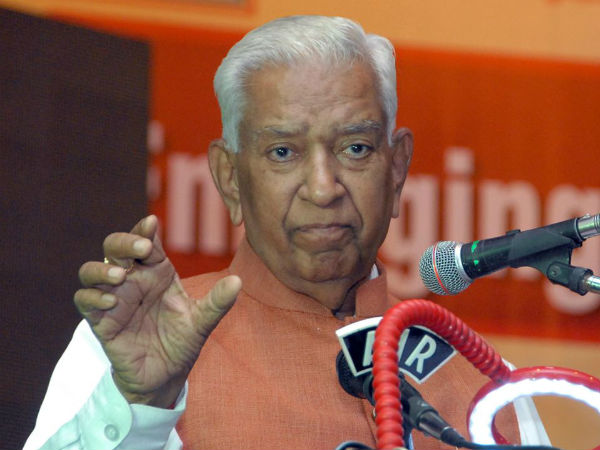 RTI reveals Governor Vajubhai Rudabhai Vala flight expenses