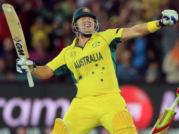 Shane Watson breaks records with 71-ball 124* against India