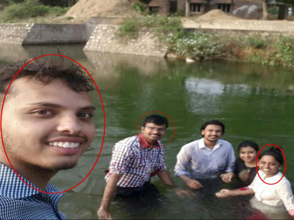 Three medical students washed away canal in Mandya