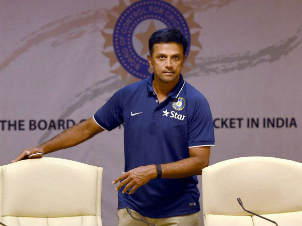 What did Rahul Dravid say about coaching Team India?