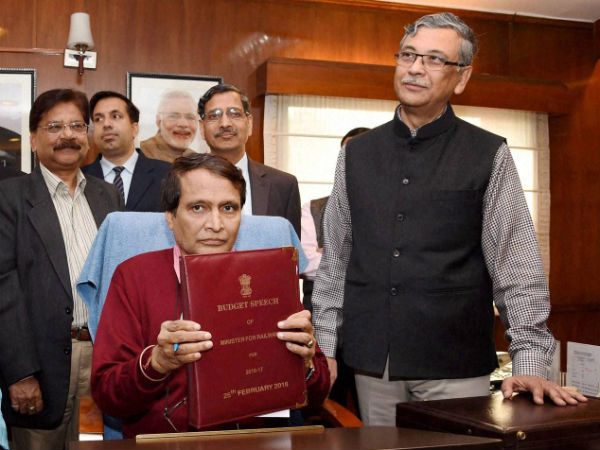 Suresh Prabhu to present Railway Budget for the 2nd time
