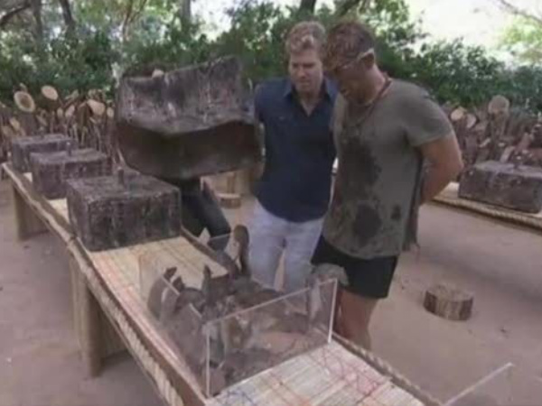 Warne bitten by Anaconda