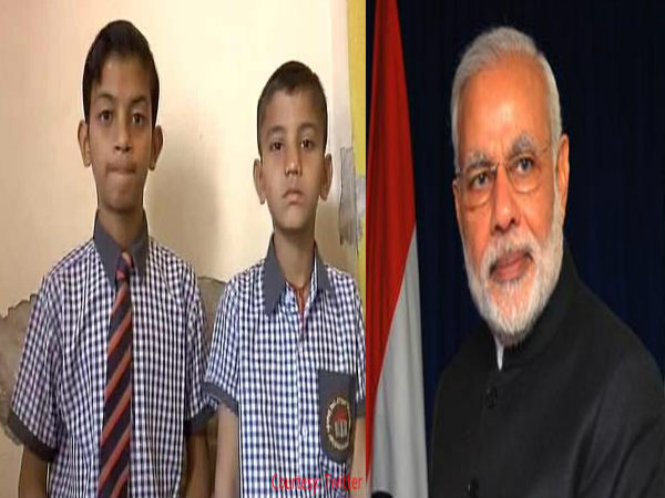 Narendra modi responds to letter by Uttar pradesh Children