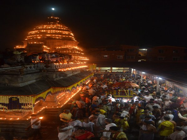 Special cultural religious programme organized in Gokarna temple, on eve of Maha Shivarathri