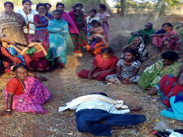 A husband commits suicide in his own land in Mysuru