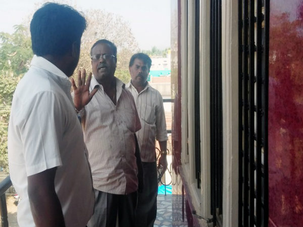 A house owner gave metal harassed on rent people in Mandya