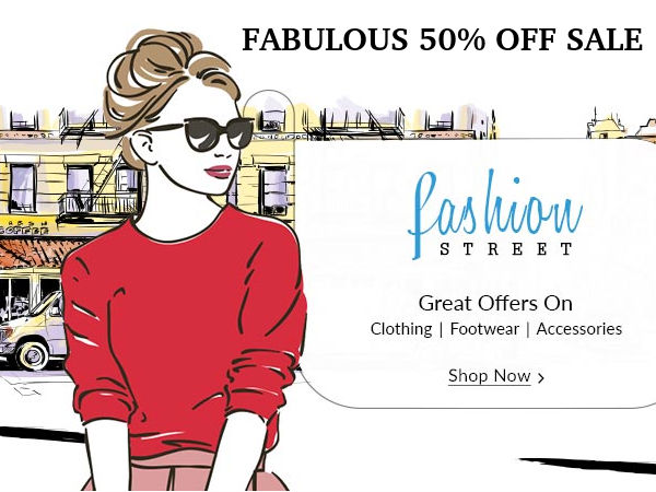 THE FABULOUS 50% OFF SALE IS BACK! Shop from Flipkart, Paytm, Amazon Now