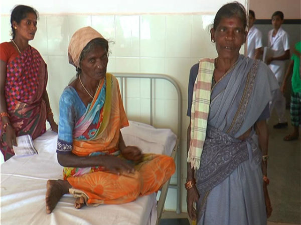 horn on the head of woman, doctors arranges operation in Chamarajanagar