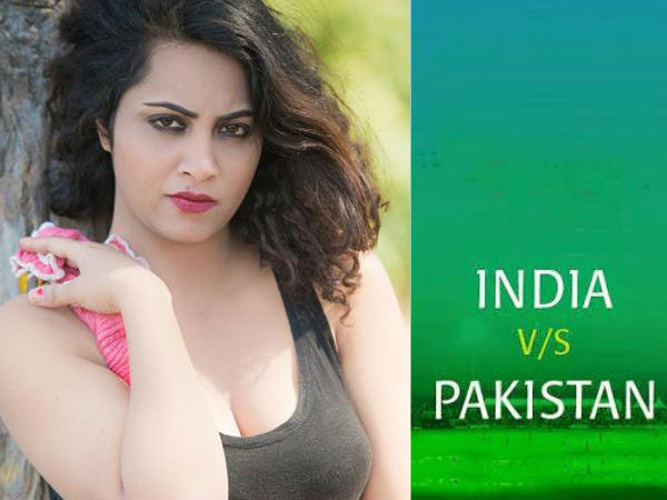 Model 'Aarshi khan shares 'hot video' for Shahid Afridi and Team India