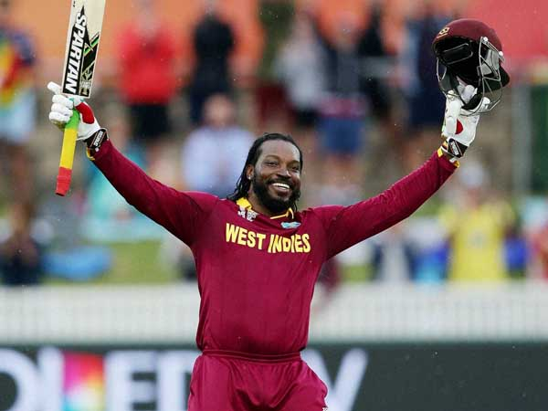 Gayle hits ton in first match of T20 World Cup again