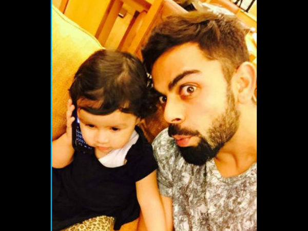Virat Kohli Harbhajan Singh and Dwayne Bravo with MS Dhoni's 'cute and adorable' daughter Ziva