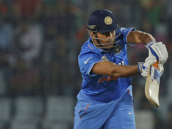 India captain MS Dhoni sets world record