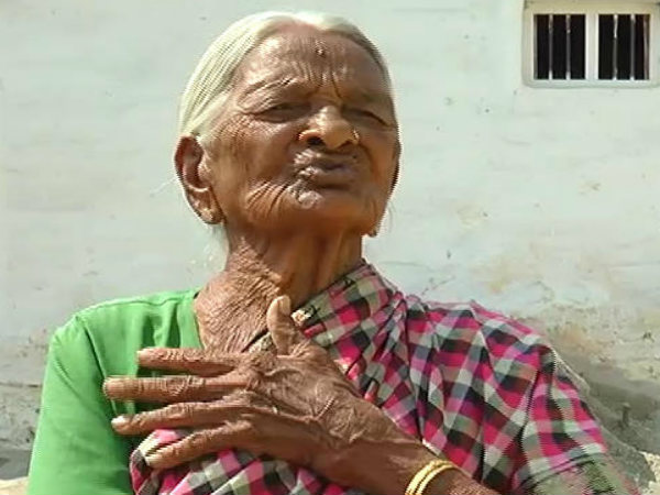 108 Year old women teaches benefits of toilets in Mysuru
