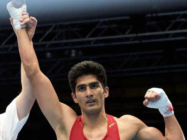 Boxer Vijender Singh dedicates win to Indian military martyrs