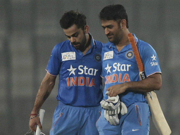Virat Kohli is a 'more matured cricketer', says captain MS Dhoni