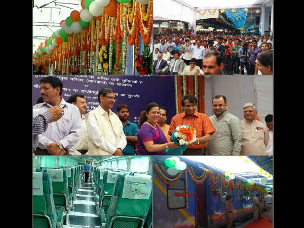 Nizamuddin-Agra Gatimaan Express flagged off