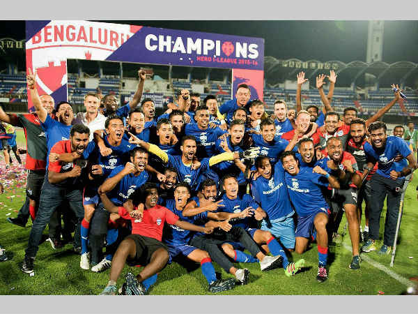 Bengaluru FC crowned I-League champions in front of home fans