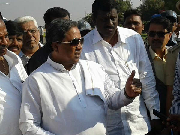 Siddaramaiah to tour drought hit 6 districts in North Karnataka