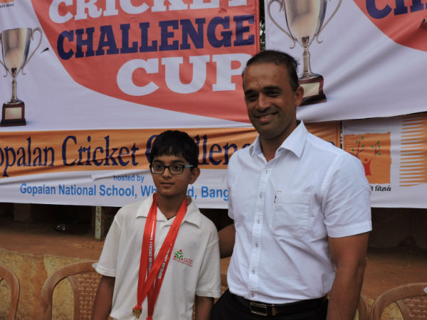 Rahul Dravid's son Samit hits 125 as BUCC win by 246 runs in Tiger Cup