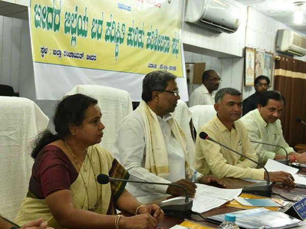 Stringent action if water not supplied to the needy : Siddaramaiah