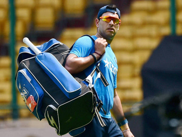 IPL 2016: Injured Yuvraj Singh out for 'couple of weeks'