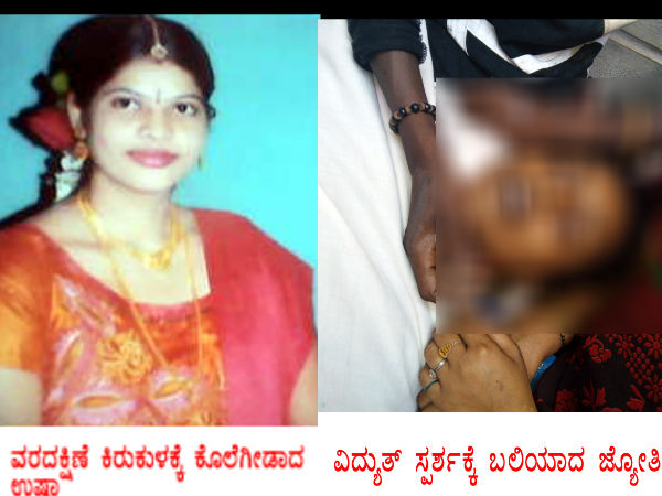 Chamarajanagar : A housewife killed Dowry Harassment case,Begur Gundlupet.