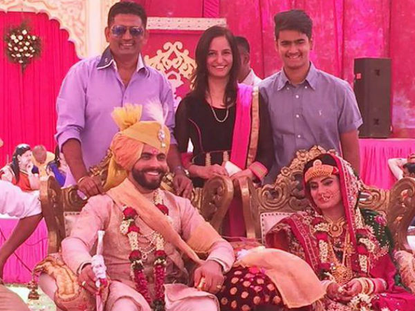 In pics: After marrying Reeva Solanki, Ravindra Jadeja welcomes new 'baby' to family!