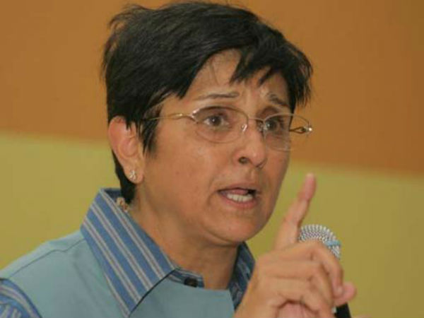 Kiran Bedi named as Lieutenant Governor of Puducherry