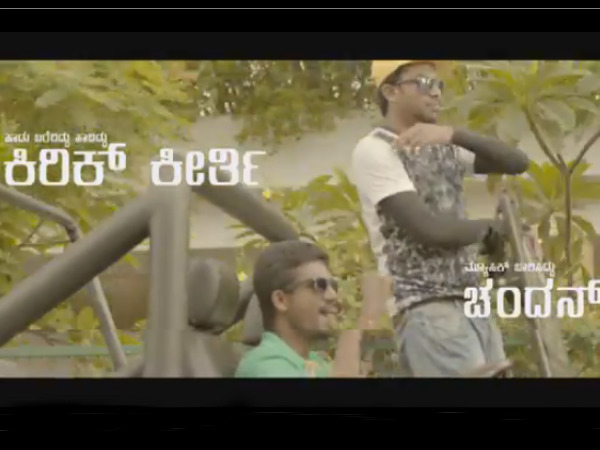 Watch video : Kannada activist Kirik Keerthi Namma Bengaluru Feat Chandan Shetty
