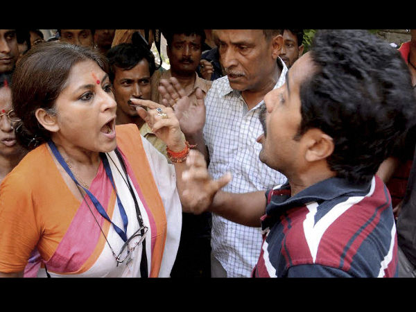 Bengal Post poll Violence : Actor and BJP leader Roopa Ganguly attacked