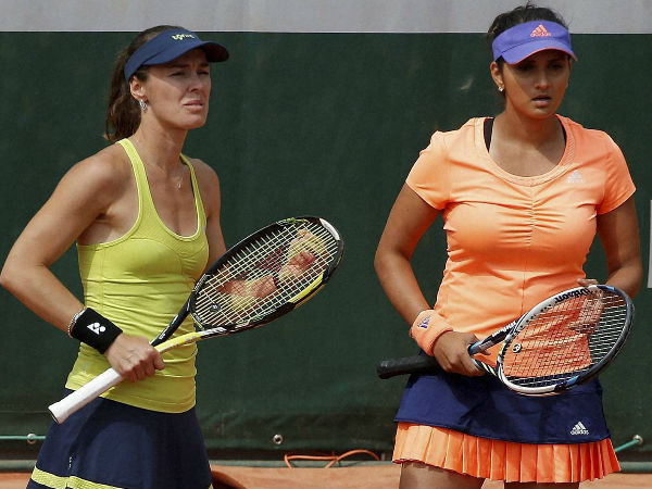 French Open: Sania-Martina crash out of women's doubles