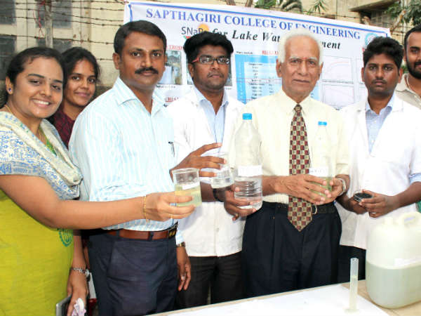Water Purifier Mission invented by Bengaluru students
