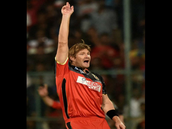 IPL 2016: RCB's Shane Watson reprimanded for misconduct