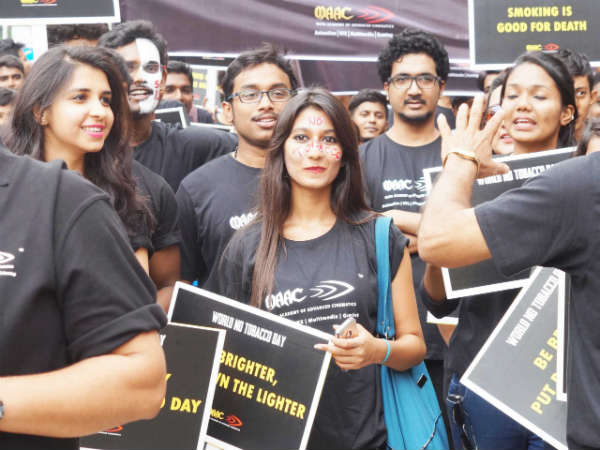 Anti Tobacco Day : Walkathon by MAAC in Bengaluru