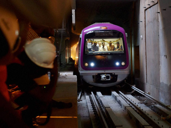 Bengaluru Namma Metro Mock Drill Tunnel Officials Passengers