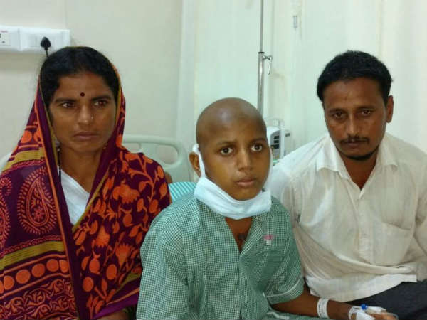 Bidar boy suffering from blood cancer, needs helping hand